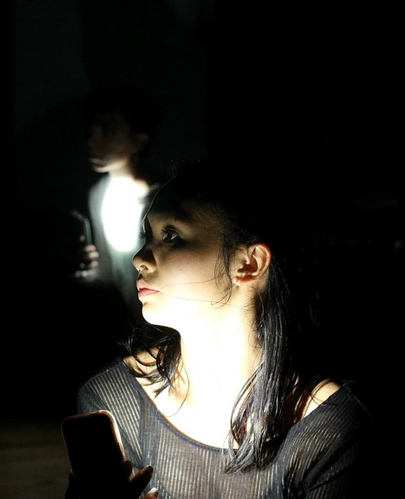 Headshot - phone light